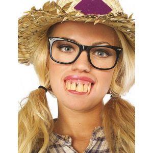 sourire dents pourries