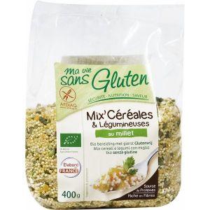 Ma vie sans gluten Mix céréales & légumineuses au millet 400gr