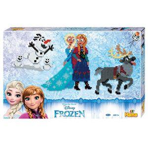 Hama Boîte cadeau géante de perles moyennes Frozen