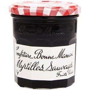 Bonne Maman Confiture de myrtilles sauvages, fruits choisis - Le pot de 370g