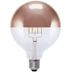 Segula ampoule globe à coupole cuivrée LED filament (remplace 35W) à grand culot E27
