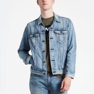 Levi's The Jacket Veste en Jean, Bleu (Killebrew Trucker 0351), Large Homme