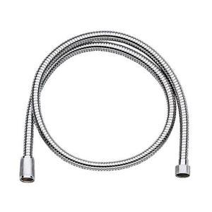 Grohe 28143000 - Flexible métallique 1.50 m haute résistance 15x21-15x21 chromé