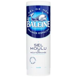 La baleine Sel Moulu de Méditerranée iodé 250 g