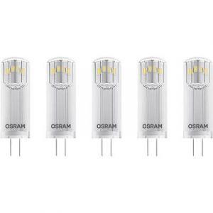 Osram Ampoule LED G4 4058075093959 forme spéciale 1.8 W = 20 W blanc chaud (Ø x L) 14 mm x 36 mm EEC: classe A++ 5 pc(s