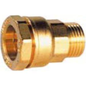 sferaco 861525 - Raccord droit Deca male D25-20x27 laiton