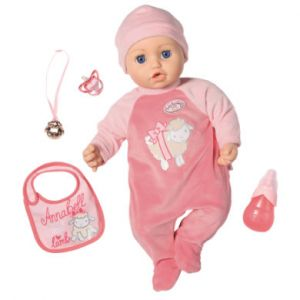 Zapf Creation Poupée bébé Annabell rose 43 cm