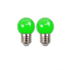 Easy Connect Blister de 2 ampoules - E27 - LED 1W - Vert