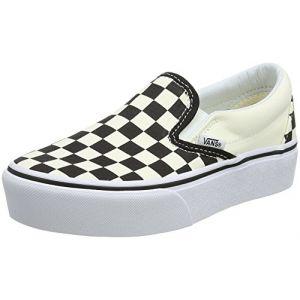 Vans Classic Slip-On Platform Lo Sneaker chaussures blanc noir à carreaux blanc noir à carreaux 38,5 EU