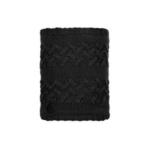 Buff Knitted & Polar Neckwarmer Savva black