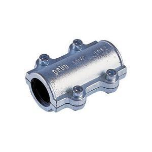 Gebo 01.252.28.04 - Collier de réparation long DSL 33x42 pour tube acier