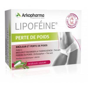 Arkopharma Lipoféine Perte de poids - 60 gélules