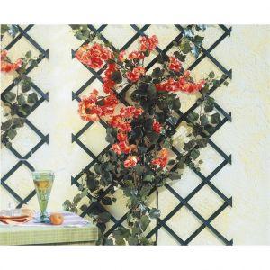 Intermas Gardening Treillis extérieur Treilliwood, en bois, coloris vert, 100 x 200 cm