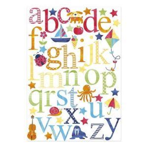 B1223 - Stickers muraux Alphabet JoJo Maman Bébé