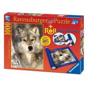 Ravensburger Loup + Tapis de puzzle - Puzzle 1000 pièces