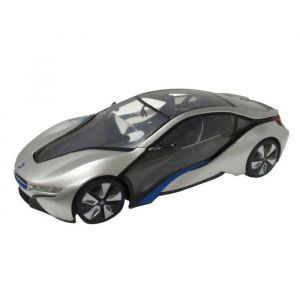 Mondo Motors Voiture télécommandée BMW I8 1:14 Grise