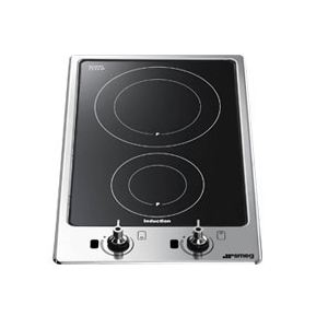 magasin en ligne 921f2 c76a3 Smeg PGF32I-1 - Domino induction 2 foyers - Comparer avec Touslesprix.com