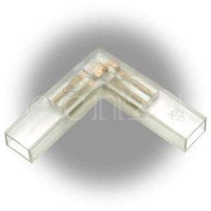Gev Connecteur en L Mini Flex Led pour guirlande lumineuse