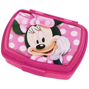 Boîte à tartines ou à goûter Minnie (11 x 16 cm)