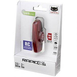 Cateye Rapid XG TL-LD 700G - Éclairage vélo - rouge/noir Lampes arrière