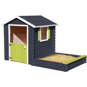 Soulet Cabane en bois pour enfant avec bac à sable - Amande