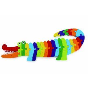 Legler 3425 - Puzzle Crocodile «Alphabet»