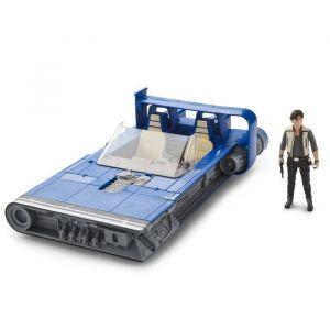 Hasbro Véhicule et Figurine - Star Wars Han Solo - Landspeeder de Han Solo