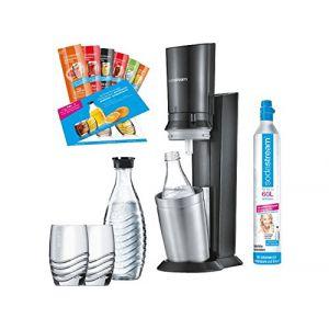 Sodastream Crystal 2.0 Promopack Titan - Machine à soda