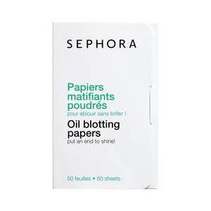 Sephora Papiers matifiants poudrés