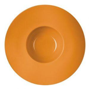 Chef & Sommelier Assiette creuse caramel en porcelaine 31cm - Savor