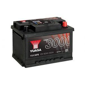 Yuasa BATTERIE 12V 60AH YBX3075