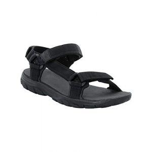 Jack Wolfskin Seven Seas 2 Sandal - Sandales de marche taille 11, noir
