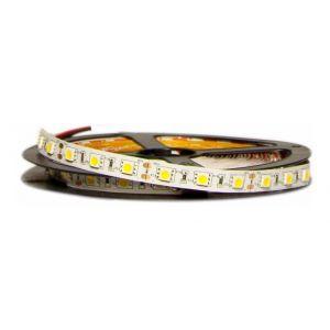 Silamp Ruban LED 12V 5M 5050 IP20 60LED/m - couleur eclairage : Blanc Neutre 4000K - 5500K