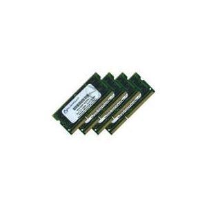 NUIMPACT MEMNMP0038D - Barrettes mémoire 4 x 8 Go DDR3 1600 MHz SoDimm 204 broches