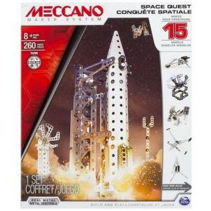 Meccano 6026302 - Conquête spatiale 15 modèles