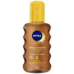 Nivea Sun Huile Protectrice en Spray au carofène Fps 6 200 ml