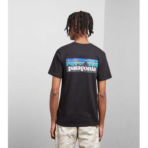 Patagonia P-6 Logo Responsibili T-Shirt pour Homme L Noir