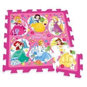 Stamp Tapis puzzle mousse Disney Princesses 9 pièces