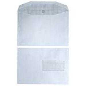 Majuscule 1000 enveloppes 16,2 x 22,9 cm avec fenêtre 4,5 cm