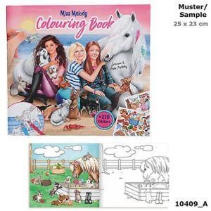 Depesche Miss Mélody album de coloriage avec animaux