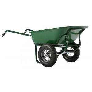 Haemmerlin 306020701 - Brouette Expert Twin peinte roue gonflée 160 L