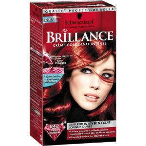 Schwarzkopf Brillance Crème colorante intensive, 842