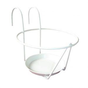 LG Porte pot soucoupe blanc Ø 20/22 cm