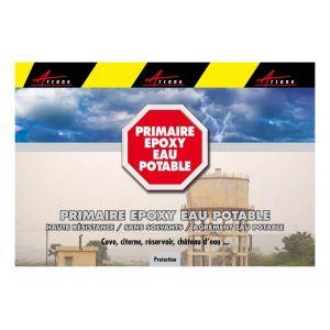Arcane industries PRIMAIRE EPOXY EAU POTABLE INCOLORE -10kg
