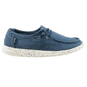 Dude Shoes Wendy Féminin Lavés en Acier Bleu UK7/EU40
