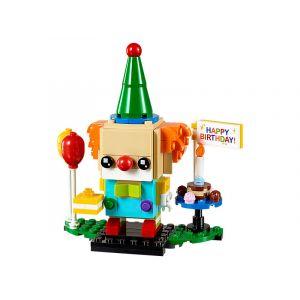 Lego 40348 - Brickheadz - Clown d'anniversaire / Birthday Clown