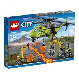 Lego 60123 - City : L'hélicoptère d'approvisionnement du Volcan