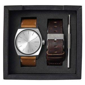 Nixon A1137-2872 - Montre mixte Time Teller avec 2 bracelets