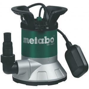Metabo TPF7000S Pompe immergée à aspiration plate pour eaux claires