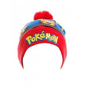 Bonnet Pokemon Logo with Pikachu